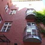 Ansicht Hofgebäude_Balkone