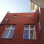 Ansicht Hof Seitenflügel
